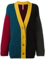 Antonio Marras colour block V-neck cardigan