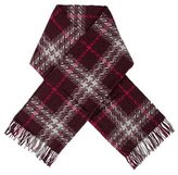 Burberry Wool-Blend Fringe Shawl