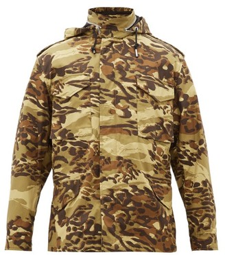 Givenchy M65 Camo-print Cotton-twill Jacket - Green Multi