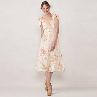 Lauren Conrad Women's Lace-Trim Slip Dress