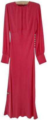 Les Rêveries Pink Silk Dress for Women