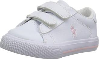 Polo Ralph Lauren Kids Unisex-Kid's Easton II EZ Sneaker