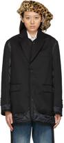 Thumbnail for your product : Junya Watanabe Paneled Gabardine & Nylon Ripstop Coat
