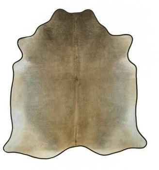 Saddlemans Gris Novelty Cowhide Tan Area Rug