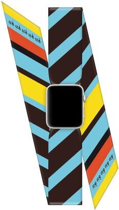 Wristpop Orange Pop 42mm/44mm Apple Watch Scarf Watch Band