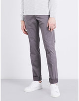 Calvin Klein Piper Slim-fit Tapered Stretch-cotton Chinos
