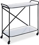 3r Studio Metal Cart on Casters with 2 Shelves