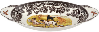 Spode Woodland Hunting Dogs Bread Tray