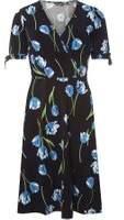 Dorothy Perkins Womens **Tall Black Wrap Dress