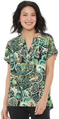 Dana Buchman Women's Short Sleeve Tee