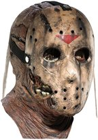 Rubie's Costume Co Costume Friday the 13th Part 7 New Blood Jason Voorhees Deluxe Overhead Mask