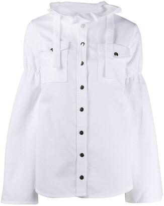 Thebe Magugu Ruffled Neck Shirt