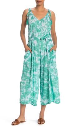 Tiare Hawaii Strappy Tie Dye Jumpsuit