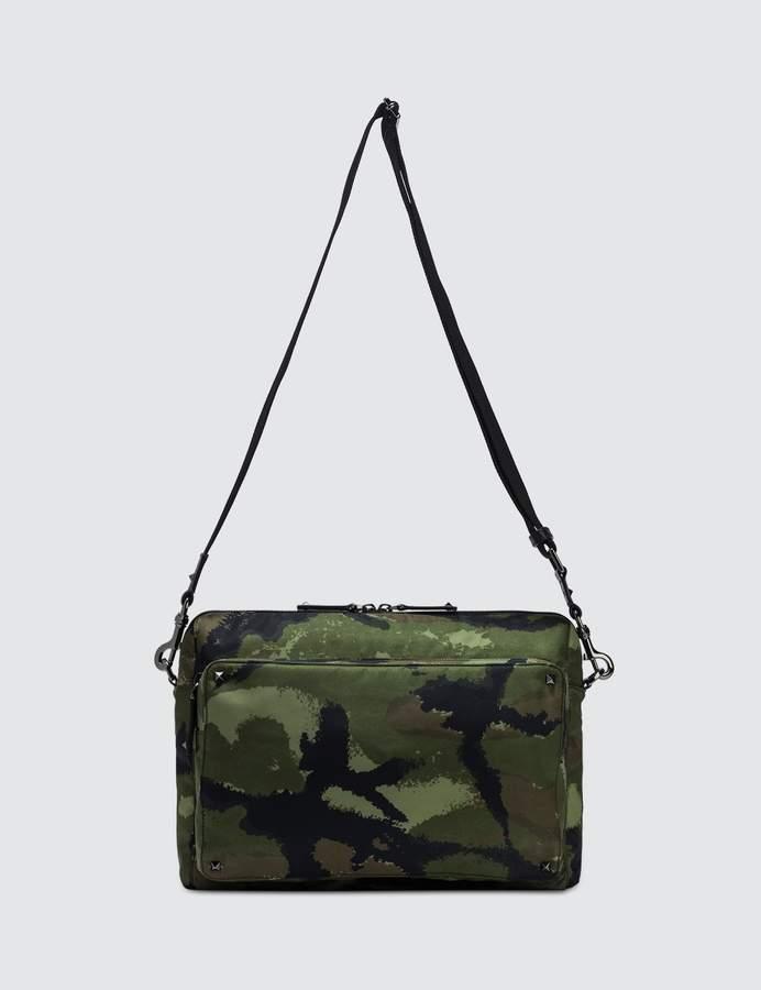 ff454e38a3a186 Mens Green Nylon Bag - ShopStyle