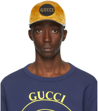 Gucci Yellow Off The Grid Baseball Cap
