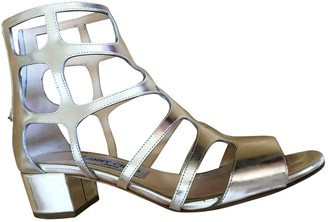 Jimmy Choo Silver Patent leather Sandals