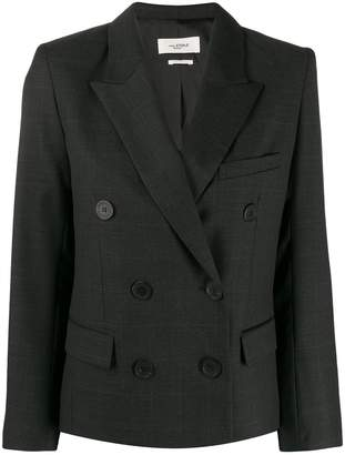 Etoile Isabel Marant double-breasted checked blazer