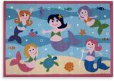 Fun Rugs Fun RugsTM 3-Foot 3-Inch x 4-Foot 10-Inch Mermaids Area Rug