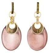 Alexis Bittar Abalone, Crystal & Lucite Drop Earrings