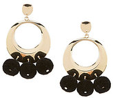 Anna & Ava Aryana Pom Pom Drop Earrings