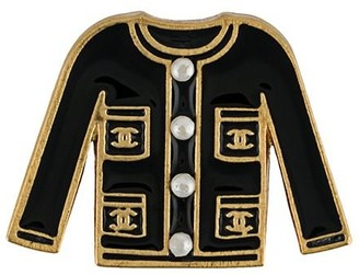 Chanel Pre Owned 2002 Jacket Brooch