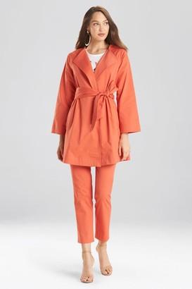Natori Cotton Twill Jacket
