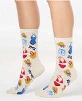 Hot Sox Women's Beach Clothes Socks