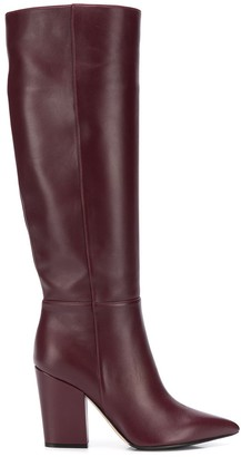 Sergio Rossi Pointed Toe Boots