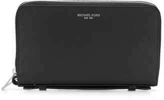Michael Kors Textured Logo Wallet