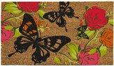 Evergreen Butterflies Coir Door Mat, 16 x 28 inches