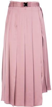 Fendi Belted Asymmetric Skirt