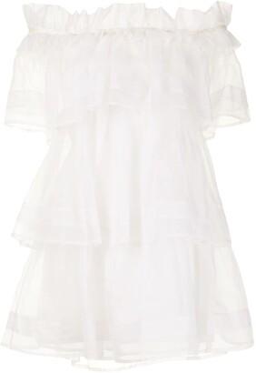 macgraw Petal silk organza dress