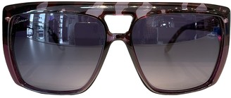 Gucci Purple Plastic Sunglasses