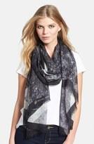 MICHAEL Michael Kors 'Diamond' Wool & Silk Scarf