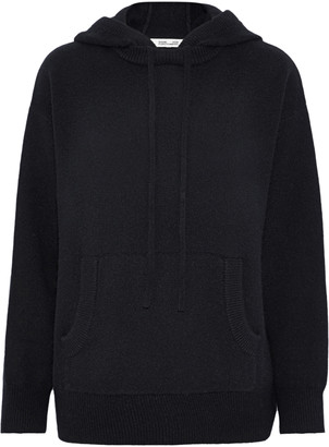Diane von Furstenberg Wool And Cashmere-blend Hooded Sweater