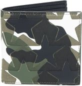 Valentino Garavani Embossed Star Billfold Wallet