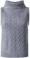 GUILD PRIME cable knit top - women - Acrylic - 34