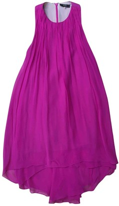 Vera Wang Pink Silk Dress for Women