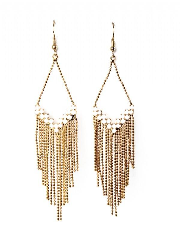 Tryst Style Fringe Earrings