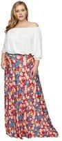 Rachel Pally Long Full Skirt WL Print