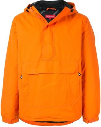 Hooded Half Zip Pullover