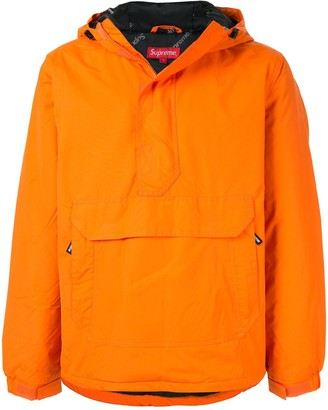 Supreme Hooded Half Zip Pullover