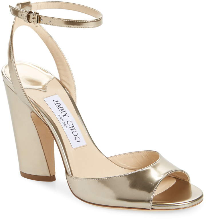 bdf7253f5ee2 Jimmy Choo Ankle Strap Women's Sandals - ShopStyle