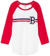 PINK Boston Red Sox Bling Perfect Baseball Tee