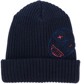 Vivienne Westwood Man - embroidered beanie - men - Wool - One Size
