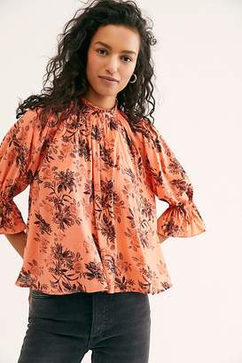 Free People Claudia Blouse