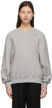Low Classic Grey Classic Stitch Sweatshirt