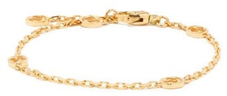 Gucci GG-logo 18kt Gold Chain-link Bracelet - Yellow Gold