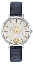 Thumbnail for your product : Versus By Versace Versus Women's Mar Vista Blue Leather Strap Watch 34mm