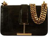 Tom Ford Tara Chain Tegu Lizard Shoulder Bag